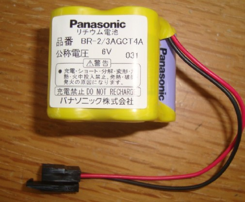 BR-2/3AGCT4A Panasonic Battery