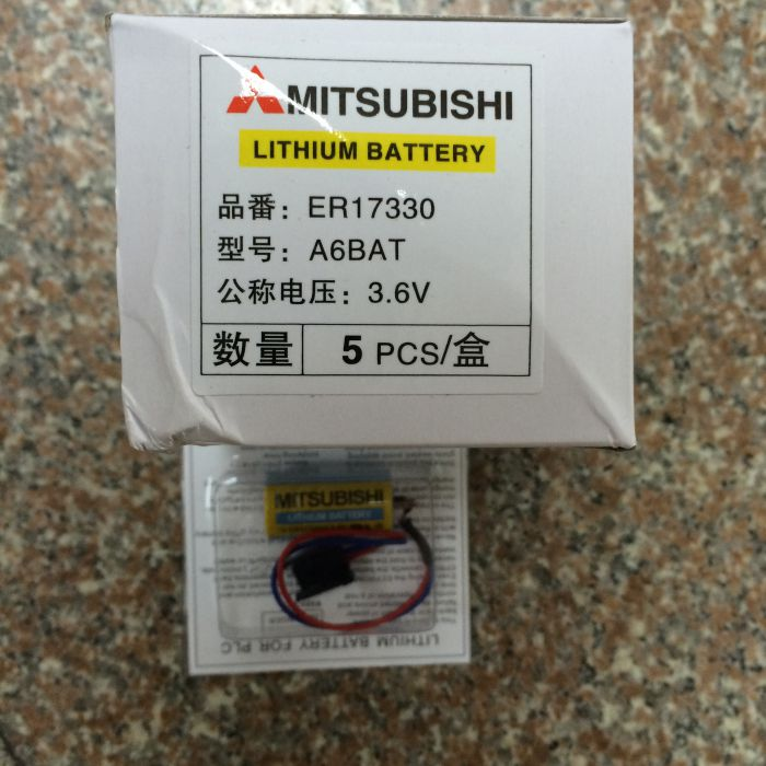 A6BAT ER17330 Mitsubsihi 3.6v battery