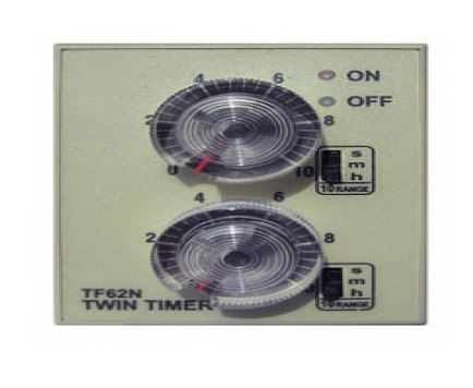 HANYOUNG NUX TF62N-E10D AUTO TIMER SWITCH TWIN TIMER